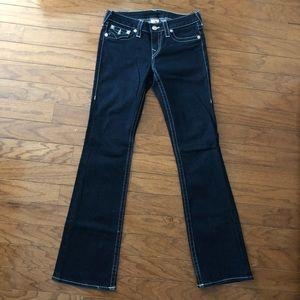 True Religion women's dark blue jeans size 29